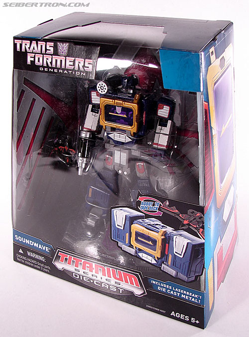 Transformers Titanium Series Soundwave (Image #10 of 99)