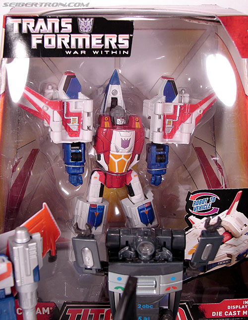 Transformers Titanium Series Starscream (War Within) (Image #1 of 110)
