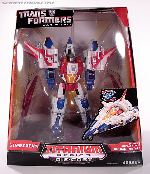 Transformers Titanium Series Starscream (War Within) (Image #2 of 110)