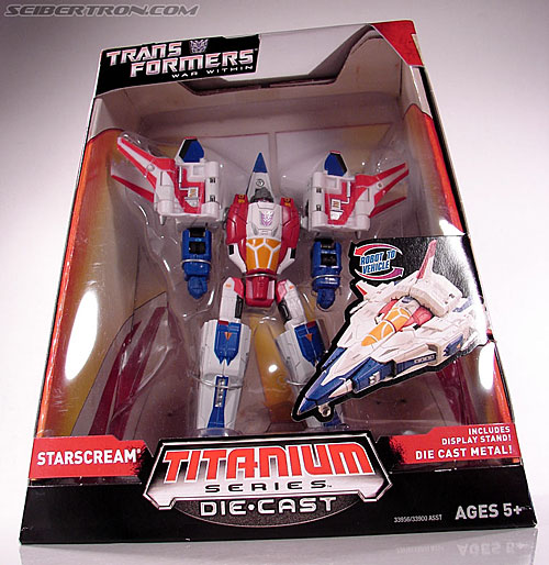 Transformers Titanium Series Starscream (War Within) (Image #4 of 110)