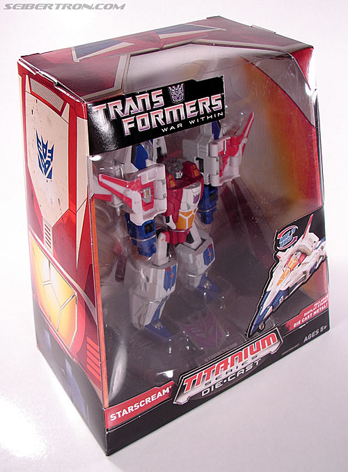 Transformers Titanium Series Starscream (War Within) (Image #5 of 110)
