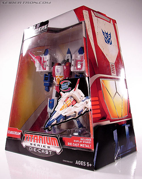 Transformers Titanium Series Starscream (War Within) (Image #13 of 110)