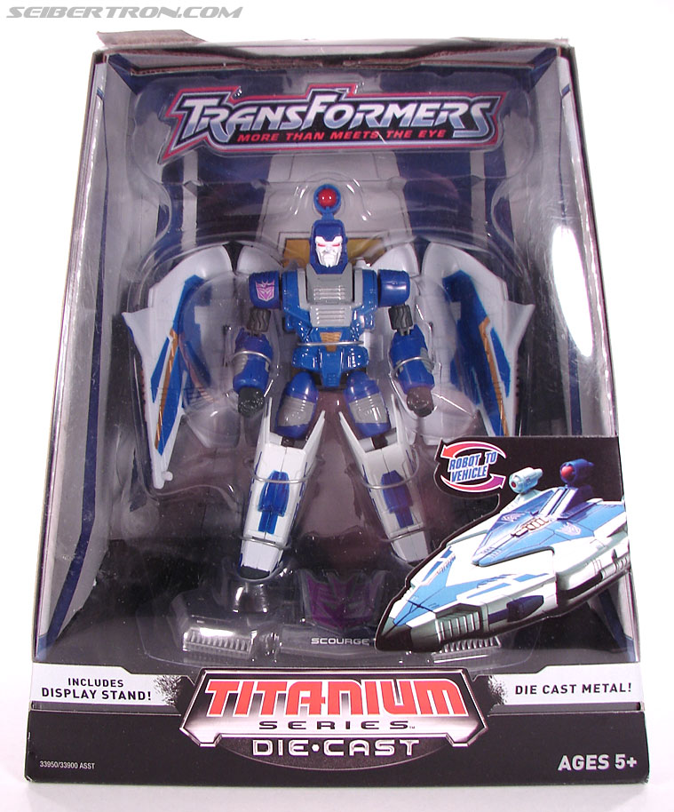 Transformers Titanium Series Scourge (Image #1 of 76)