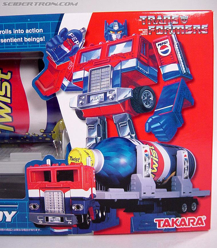 Transformers Classics Pepsi Optimus Prime (Pepsi Convoy) (Image #2 of 202)