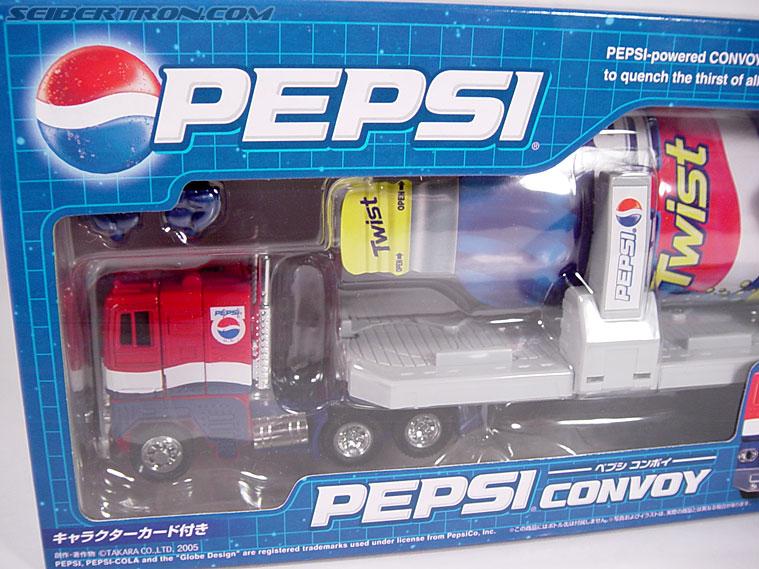 Transformers Classics Pepsi Optimus Prime (Pepsi Convoy) (Image #7 of 202)