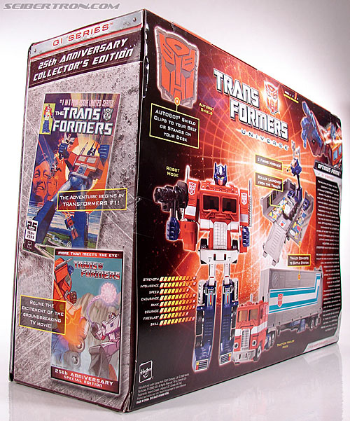 Transformers Classics Optimus Prime (25th Anniversary) (Image #29 of 267)