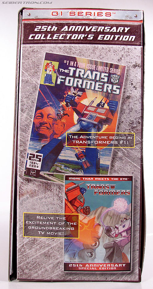 Transformers Classics Optimus Prime (25th Anniversary) (Image #30 of 267)