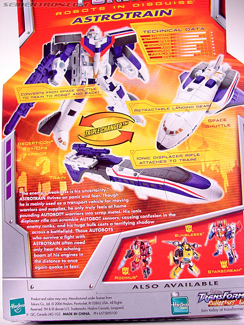 Transformers Classics Astrotrain (Image #10 of 102)