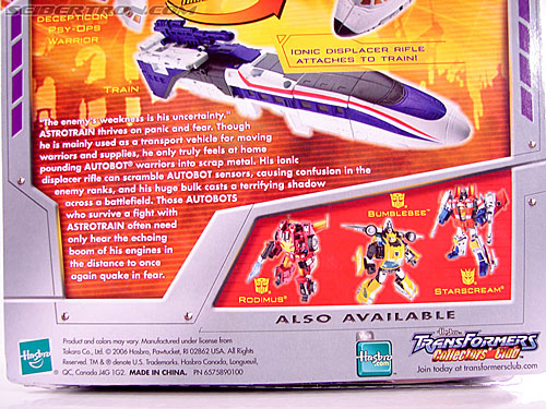 Transformers Classics Astrotrain (Image #11 of 102)