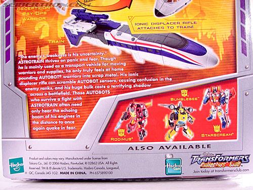 Transformers Classics Astrotrain (Image #11 of 102)