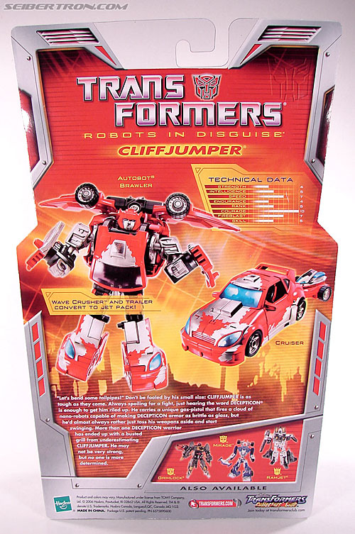 Transformers Classics Cliffjumper (Image #9 of 108)