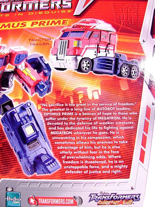 Transformers Classics Optimus Prime (Convoy) (Image #11 of 98)