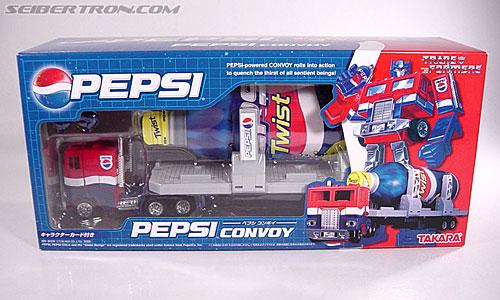 Transformers Classics Pepsi Optimus Prime (Pepsi Convoy) (Image #1 of 202)