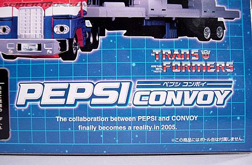 Transformers Classics Pepsi Optimus Prime (Pepsi Convoy) (Image #14 of 202)