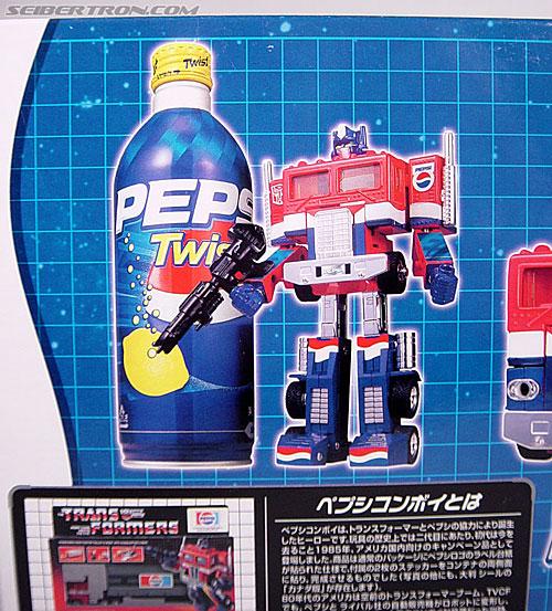 Transformers Classics Pepsi Optimus Prime (Pepsi Convoy) (Image #16 of 202)