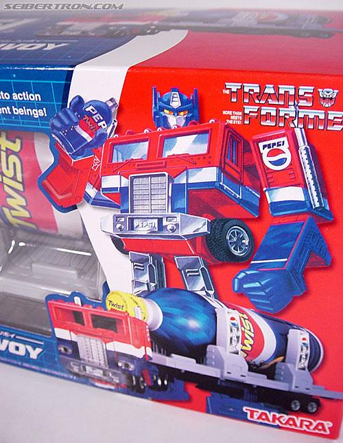 Transformers Classics Pepsi Optimus Prime (Pepsi Convoy) (Image #24 of 202)