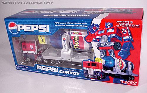 Transformers Classics Pepsi Optimus Prime (Pepsi Convoy) (Image #26 of 202)