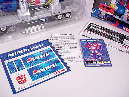 Transformers Classics Pepsi Optimus Prime (Pepsi Convoy) (Image #29 of 202)