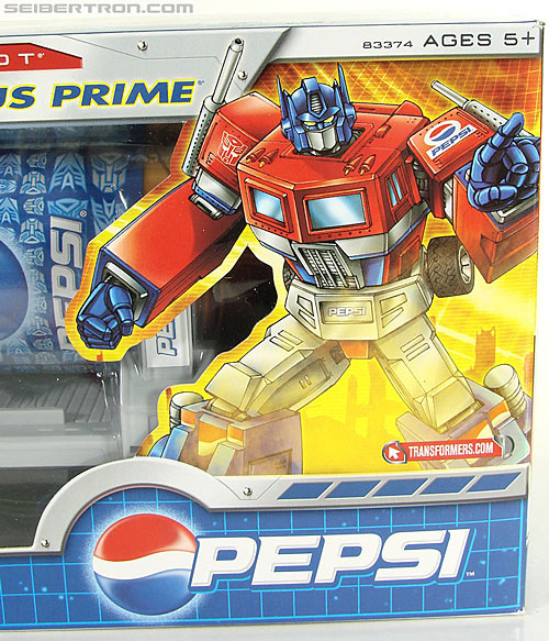 Transformers Classics Pepsi Optimus Prime (Pepsi Convoy) (Image #35 of 202)