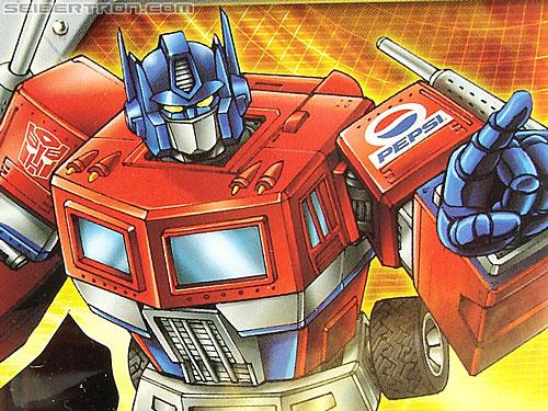 Transformers Classics Pepsi Optimus Prime (Pepsi Convoy) (Image #36 of 202)
