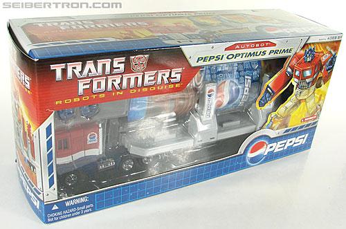Transformers Classics Pepsi Optimus Prime (Pepsi Convoy) (Image #40 of 202)