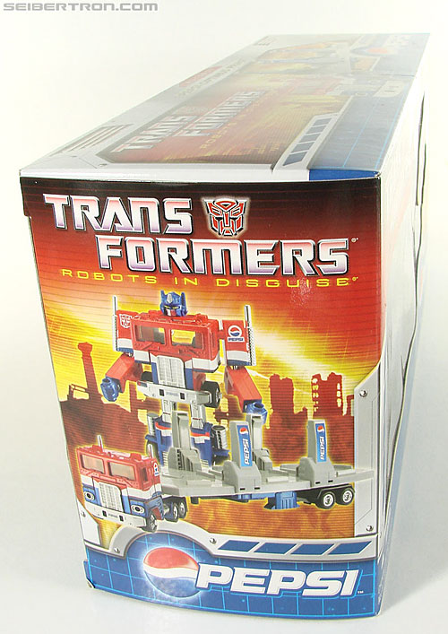 Transformers Classics Pepsi Optimus Prime (Pepsi Convoy) (Image #41 of 202)