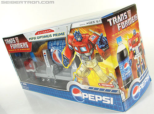 Transformers Classics Pepsi Optimus Prime (Pepsi Convoy) (Image #49 of 202)