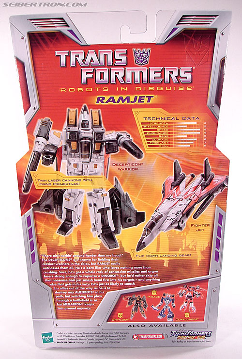 Transformers Classics Ramjet (Image #9 of 125)