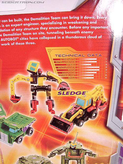 Transformers Classics Sledge (Image #8 of 50)