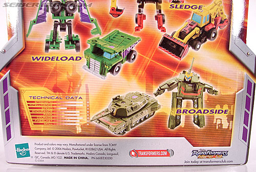 Transformers Classics Sledge (Image #9 of 50)