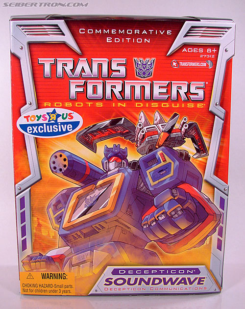 Transformers Classics Soundwave (Reissue) (Image #1 of 137)
