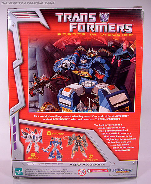 Transformers Classics Soundwave (Reissue) (Image #7 of 137)
