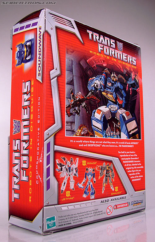 Transformers Classics Soundwave (Reissue) (Image #11 of 137)