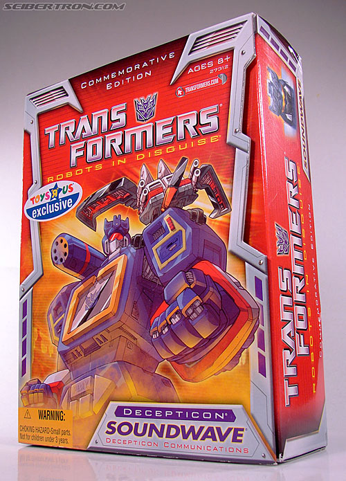 Transformers Classics Soundwave (Reissue) (Image #13 of 137)