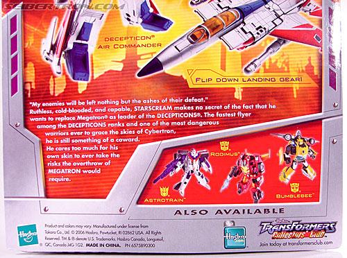 Transformers Classics Starscream (Image #12 of 113)