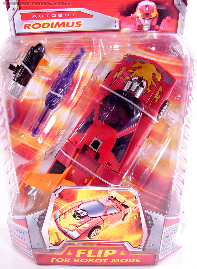Transformers Classics Rodimus (Hot Rod) (Image #3 of 92)