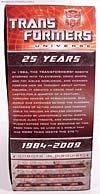 Transformers Classics Optimus Prime (25th Anniversary) - Image #18 of 267