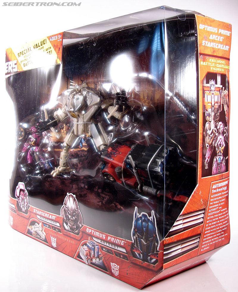 Transformers (2007) Battle Damaged Optimus Prime (Image #15 of 144)