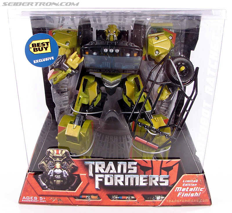 Transformers (2007) Premium Ratchet (Best Buy) (Image #1 of 118)