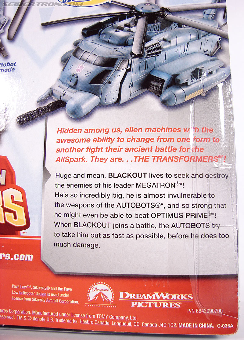 Transformers (2007) Gyro Blade Blackout (Image #10 of 73)