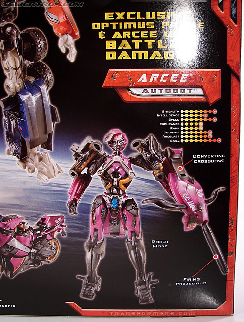 Transformers (2007) Battle Damaged Arcee (Image #4 of 72)
