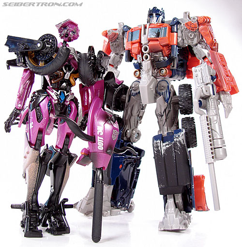 Transformers (2007) Battle Damaged Arcee (Image #62 of 72)