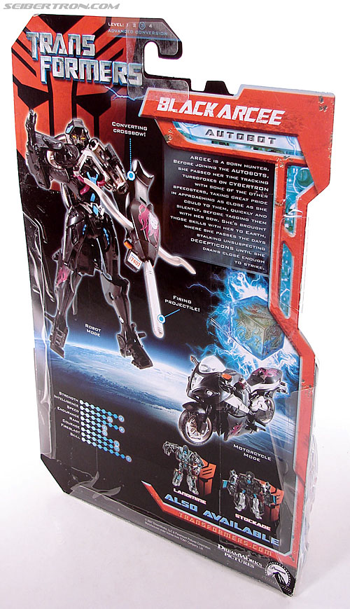 Transformers (2007) Black Arcee (Image #5 of 84)