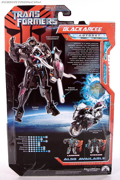 Transformers (2007) Black Arcee (Image #6 of 84)