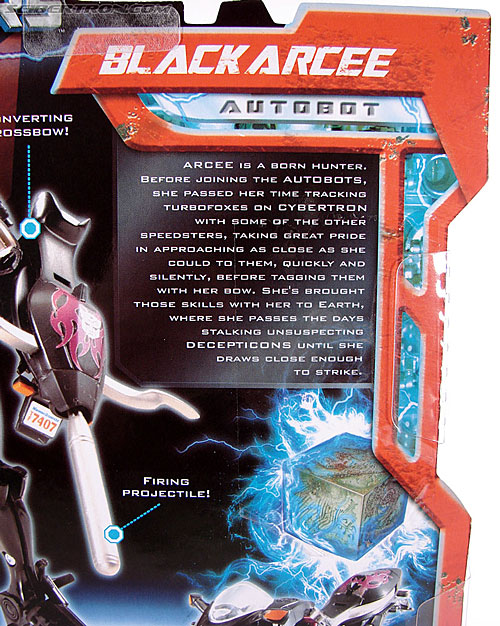 Transformers (2007) Black Arcee (Image #7 of 84)