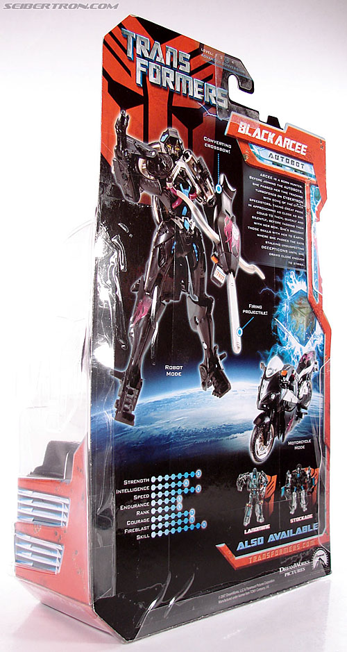 Transformers (2007) Black Arcee (Image #8 of 84)
