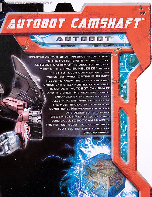 Transformers (2007) Camshaft (Image #7 of 80)