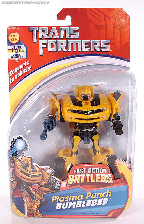 Transformers (2007) Plasma Punch Bumblebee (Image #1 of 72)