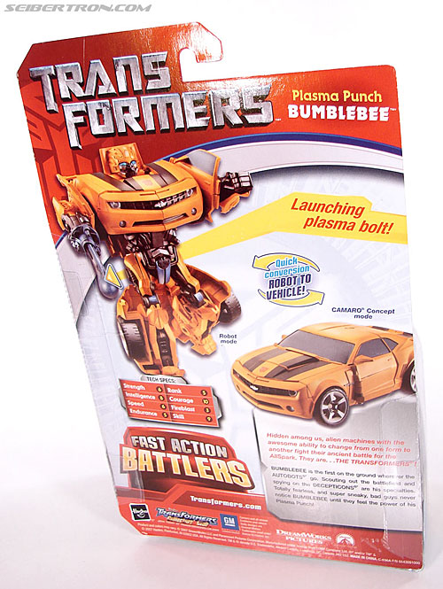 Transformers (2007) Plasma Punch Bumblebee (Image #7 of 72)
