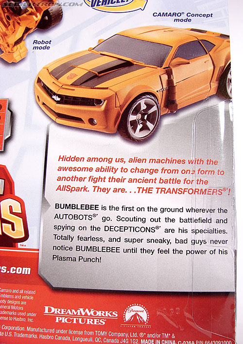 Transformers (2007) Plasma Punch Bumblebee (Image #10 of 72)